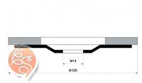Круг лепестковый стандарт Р120